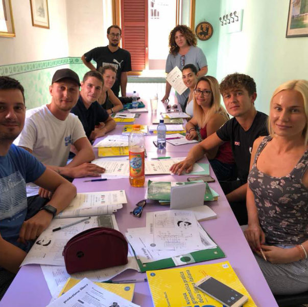 Italian standard course for group